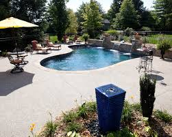 water features in ground pool water features in ground pool dealer st louis mo