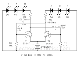 dancing light circuit