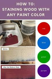 staining wood any paint color you want pretty purple door