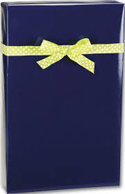 navy blue wrapping paper gift wrap navy ultra gloss cutter roll e 6130c by bags bows