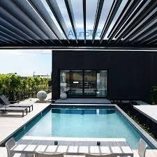 motorized louvered pergola roof waterproof pergola covers buy