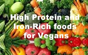 high in iron foods for vegans best food 2017