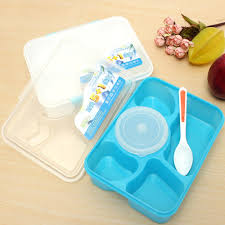 Food Container Storage Portable Microwave Picnic Lunch Box 5 1 Fruit Food Container