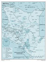 Kenya Map Africa by Large Detailed Political And Administrative Map Of Kenya With All