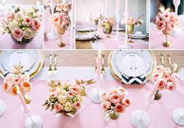 centerpieces for baby shower girl glamorous pink ivory and gold baby shower fiftyflowers the