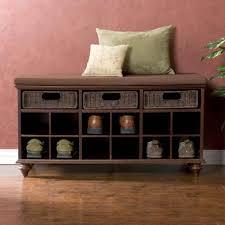 prepac shoe storage cubbie bench espresso nucleus home