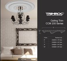 What Size Ceiling Medallion For Chandelier Ceiling Medallions Canamould Com
