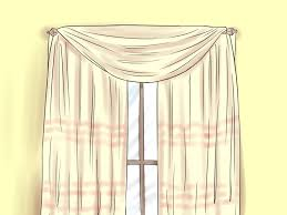 how to hang scarf curtains home design ideas and pictures