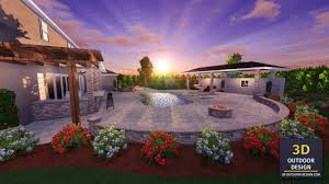 3d pool design u0026 3d landscape renderings 3d outdoor design