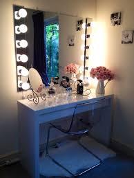black vanity set with lights furniture vanity set with lighted mirror beautiful dressers makeup