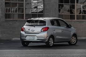 mitsubishi mirage silver 2015 mitsubishi mirage 3 500 factory rebate crazy deal