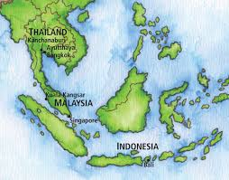 Bali Indonesia Map Bangkok To Bali Eastern And Oriental Express The Ohio State