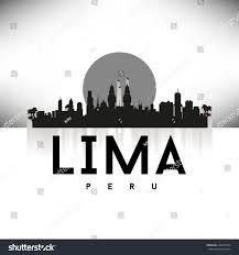 lime silhouette royalty free peru lima skyline silhouette black u2026 205570534 stock