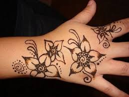 henna designs for beginners drawings palm peacock form kids for