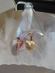 Personalised Christmas Angel Decorations by Christmas Tree Decoration Blown Glass Bauble In Loving Memory