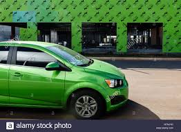 Matching Colors by Unusual Coincidence Of Lime Green Matching Colors In An Automobile