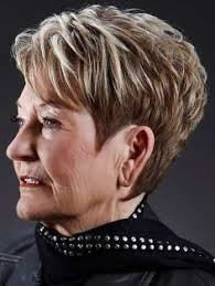 ideas about short hairstyles for 60 year old woman cute