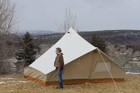 Tent Building by The Shackleton Tent Ellis Canvas Tents
