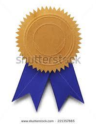 blue and gold ribbon gold ribbon award stock images royalty free images vectors