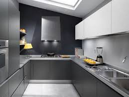 Complete Kitchen Cabinets Kitchen Stainless Steel Countertops Withblack Wall Combination