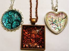 How To Make Fused Glass Jewelry - 41 best rubber stamped jewelry projects images on pinterest