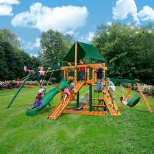 Backyard Swing Sets Canada Outdoor Mesmerizing Gorilla Playset For Nice Kids Playground