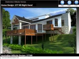 slope house plans house plans for sloping charming up slope house