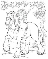 Brave Coloring Page Brave Serving Tea In Brave Coloring Page Free Disney Brave Coloring Pages