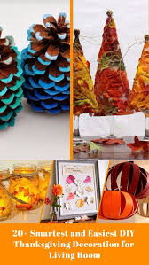 20 smartest and easiest diy thanksgiving decoration for living room