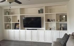 Built In Shelves Living Room Tvbuiltins Com Cabinet Building Builtin Tv Cabinets