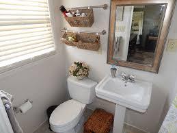 Bathroom Basket Storage Hanging Baskets Bathroom Decoration Realie