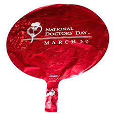 mylar balloons doctors day mylar balloon celebrate doctors day