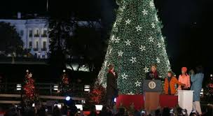 photos the christmas tree and the obamas over the years colorlines