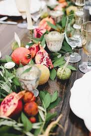 Non Flower Centerpieces For Wedding Tables by Best 25 Fruit Centerpieces Ideas On Pinterest Fruit Platters