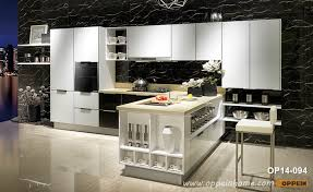 lacquered glass kitchen cabinets modern toughened glass kitchen cabinet op14 094 oppein