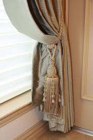 Curtain Tie Backs Anthropologie by Beautiful Dramatic Finish With Single Jeweled Tassel Tieback And