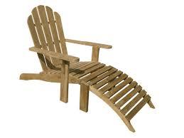 sedia sdraio giardino riviera sedia a sdraio con poggiapiedi by il giardino di legno