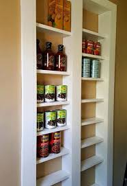 pantry ideas for kitchens pantry between the studs hometalk