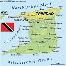 where is and tobago located on the world map map of and tobago map in the atlas of the