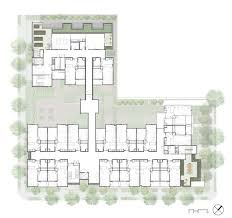 Lakeside Floor Plan David Baker Architects Lakeside Senior Apartments