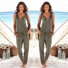 casual going out coffee jumpsuits for 2017 casual going out army