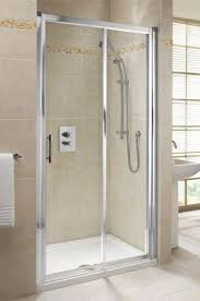 mira elevate slider shower door 1000mm plumb center