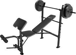 competitor opp weight bench and 80 lb weight set u0027s