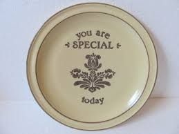 you are special plates pfaltzgraff birthday you are special by vintageintent on