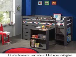 lit surélevé avec bureau lit lit surélevé avec bureau nouveau lit bureau enfant élégant