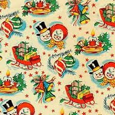 reversible christmas wrapping paper x mas008 wrapping papers vintage wrapping paper and vintage christmas