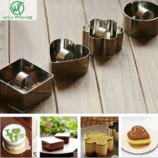 Aliexpress Com Buy 1pc Cute Stainless Steel Cookie Cake Mold