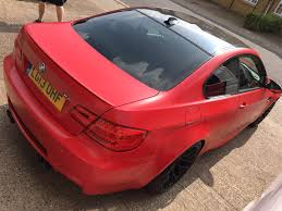 matte red bmw bmw m3 u2013 creative fx