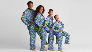 best matching family pajamas for the holidays