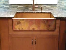 Sink  Faucet  Imposing Copper Kitchen Sinks For Copper Sinks - Copper farmhouse kitchen sink